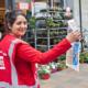 Verkoper Straatjournaal voor de Supermarkt